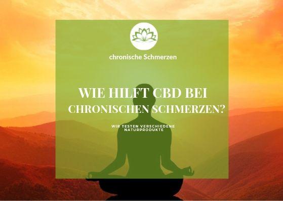 CBD bei chronische Schmerzen